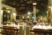 Alona Palm Beach Resort  Dining