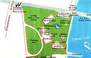 Waterfront Insular Hotel Map
